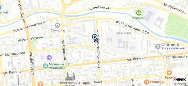 Строитель, ООО на карте