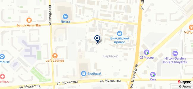 Красноярский Умный Дом, ООО на карте