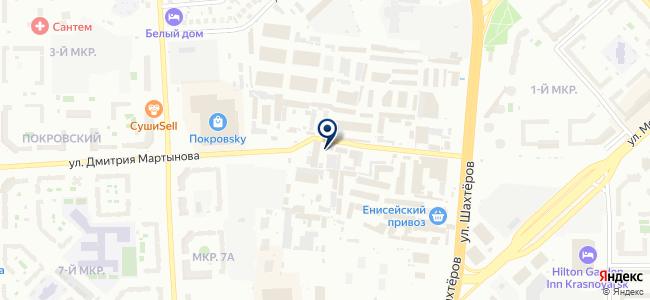 Ледел-Красноярск, ООО на карте