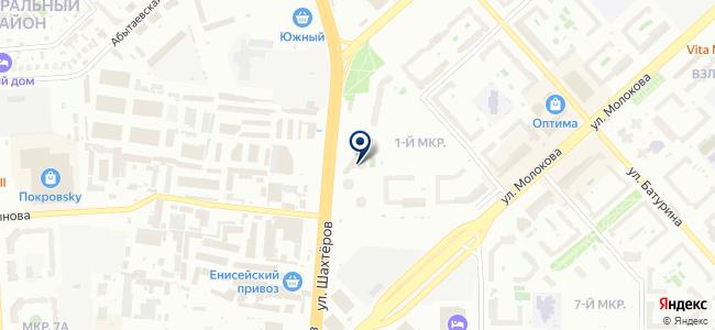 Артея на карте