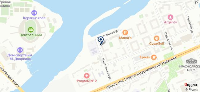 Центр безопасности Сибири, ООО на карте