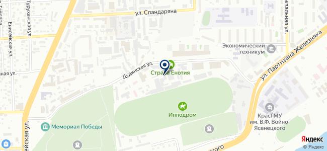 КрасИнженерСтрой, ООО на карте