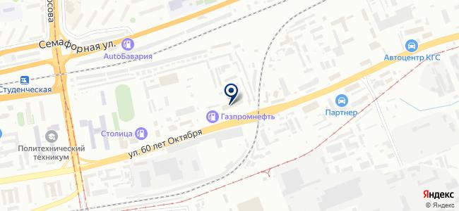 Механика-М, ООО на карте