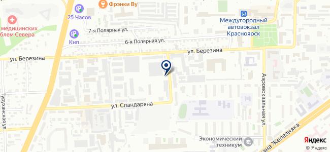 КПАТП на карте