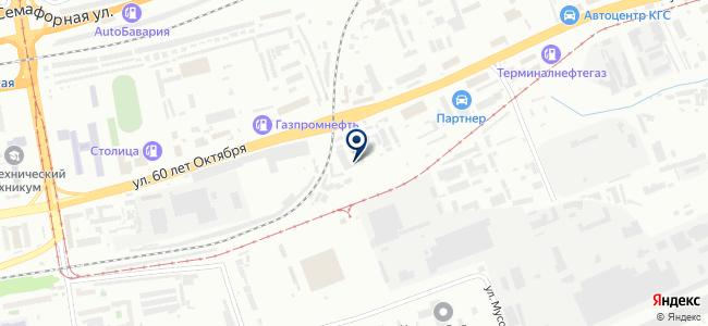 ПКСК на карте