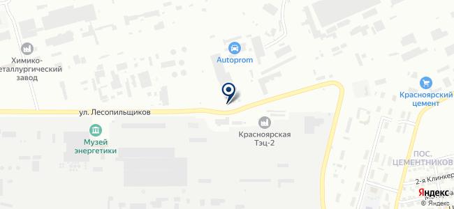 Сирена, ООО на карте