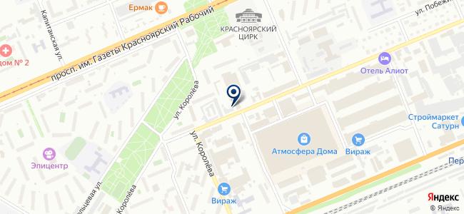 Торнадо, ООО на карте