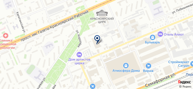 Реорика Красноярск, ООО на карте