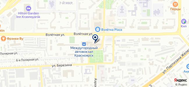 Магазин постоянных распродаж на карте