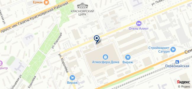 С.Э.М. на карте