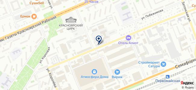Салон электрокаминов и декоративных фонтанов на карте