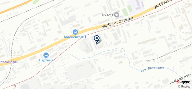 КрасТехЭнерго, ООО на карте