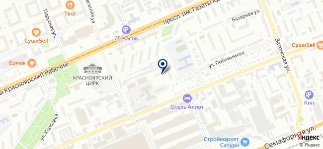 Богданов К.А., ИП на карте
