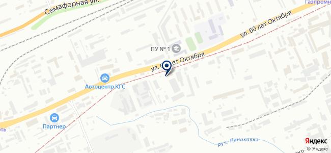 Фараон, ООО на карте