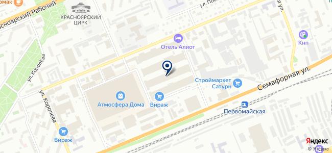 ДЕЛО на карте