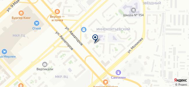 АлФеС на карте