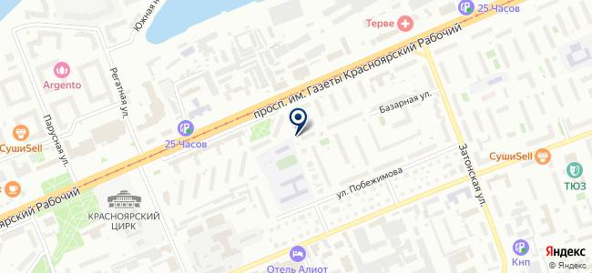 Проект сервис, ООО на карте