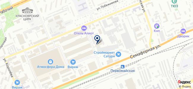 Крада, ООО на карте