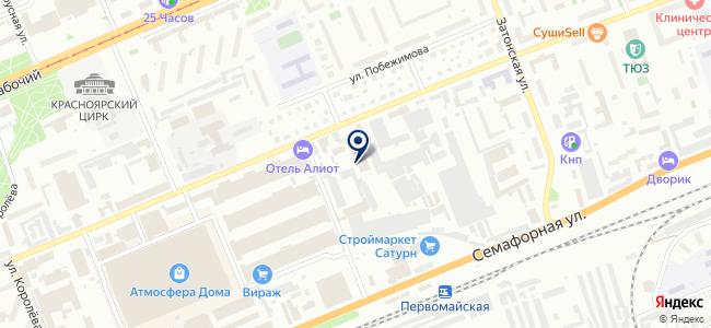 Первая электрическая компания на карте