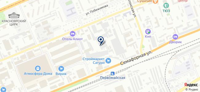 КрасКИП, ООО на карте