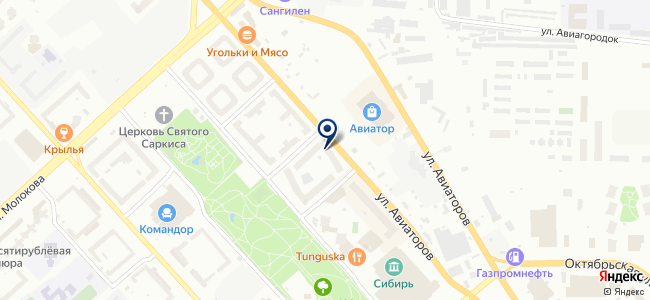АУРА на карте