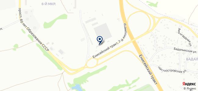 Красноярское ПАТП №2 на карте