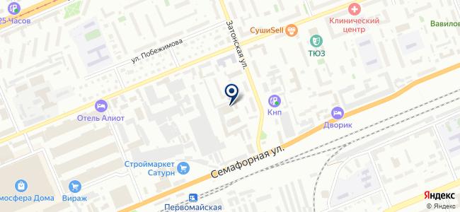 КрасЛид на карте