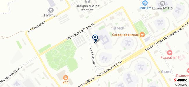 Магазин хозяйственных и отделочных товаров на карте
