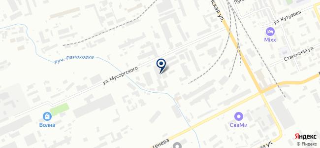 Красверта, ООО на карте