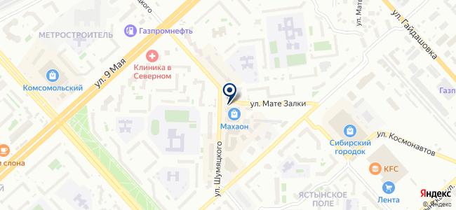 Лабораторно-контрольное оборудование, ООО на карте