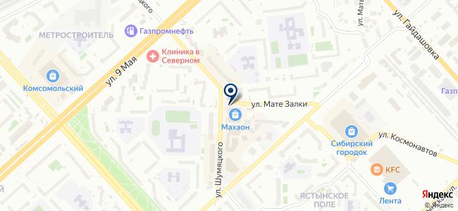 Сибэнком, ООО на карте