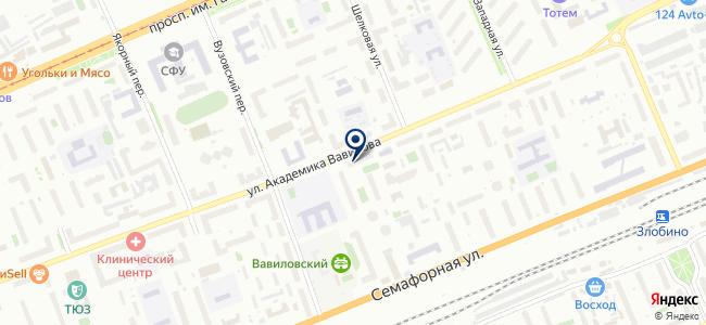 БАЛ на карте
