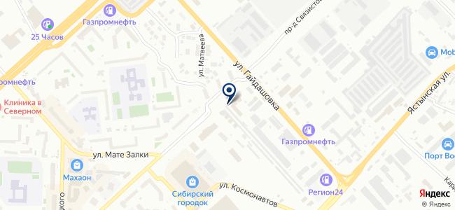 КрасЭнергоСтрой, ООО на карте