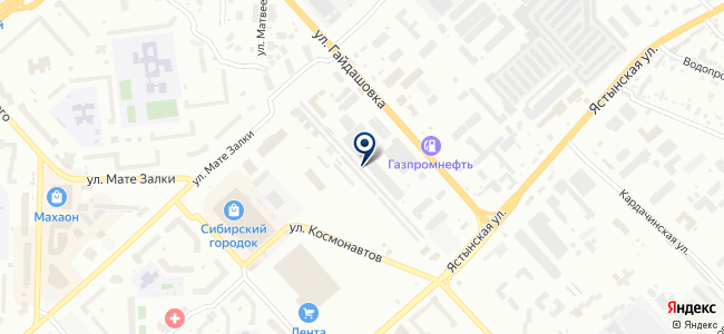 ЕКТ Сибирь, ООО на карте