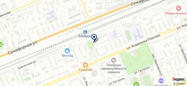 Ампер на карте