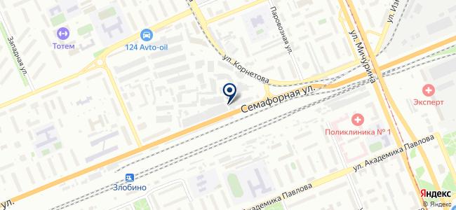 Бизнес Контракт, ООО на карте