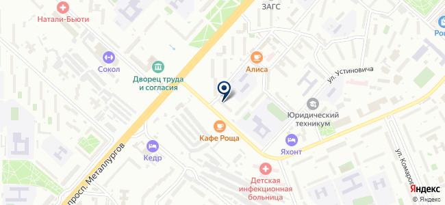 А & K на карте