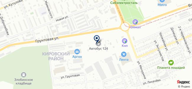 Енисей ТСС на карте