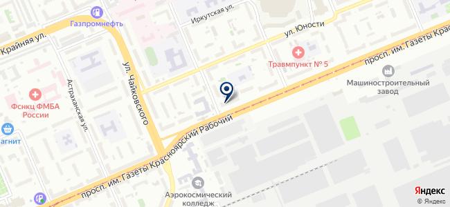 Абзац на карте