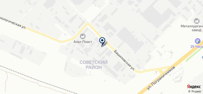 Санг-Красноярск, ООО на карте