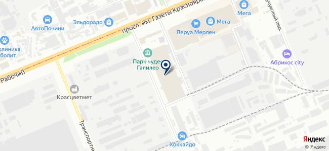 ТеплоГид на карте