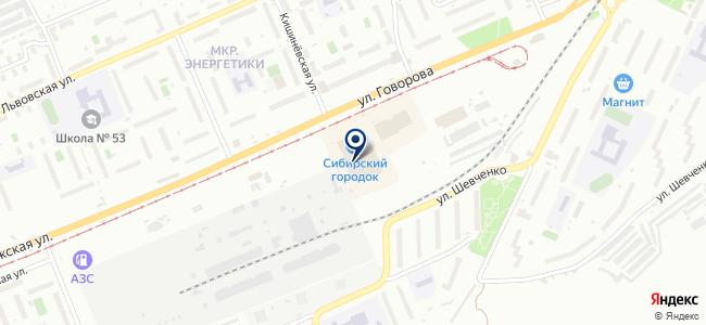 Софит-люстры на карте