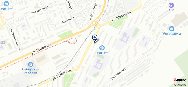 Отделение электросвязи №92 на карте