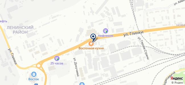 Удачный на карте