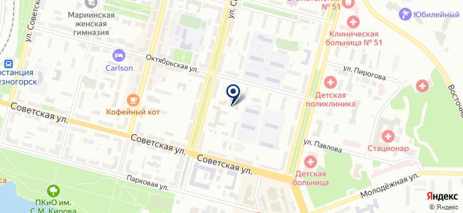 Сэлти на карте