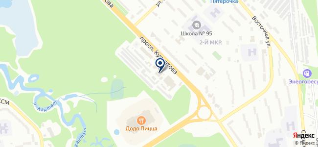 Элекс на карте