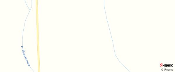 Улица Миляева на карте поселка Иультина с номерами домов
