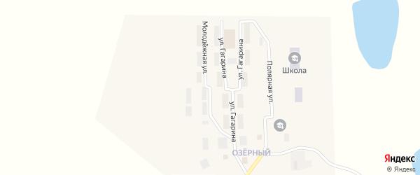 Молодежная улица на карте поселка Эгвекинот с номерами домов