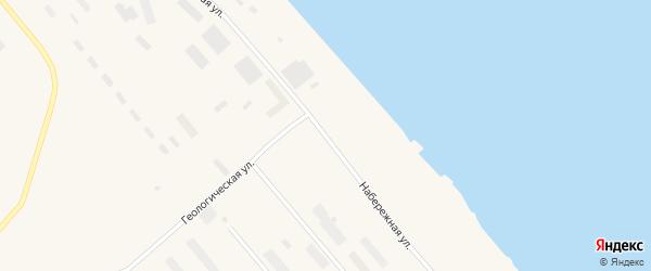 Набережная улица на карте поселка Мыса Шмидта с номерами домов
