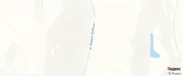 Карта местечка Шэбэя Баруна в Бурятии с улицами и номерами домов